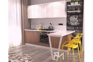 Современный кухонный гарнитур МДФ - Мебельная фабрика «Фабрика кухни РМ»