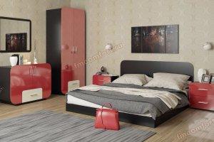 Современный спальный гарнитур АйМеб 1 - Мебельная фабрика «Комфорт»