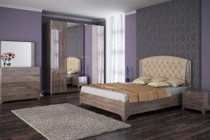 Современный спальный гарнитур Милан - Мебельная фабрика «Успех»