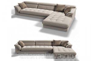 Современный угловой диван ALDES 15 - Мебельная фабрика «Alternatиva Design»