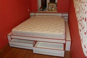 Спальная кровать стиль - Мебельная фабрика «Мебелина»