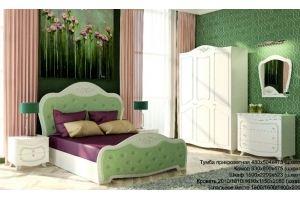 Спальный гарнитур классический Элегант - Мебельная фабрика «А-Элита»