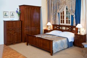 Спальня Адель (орех экко) - Мебельная фабрика «Орёлмебель»