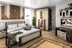 Спальня Агава NEW - Мебельная фабрика «SON&C»