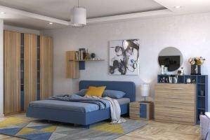 Спальня Альфа 4 - Мебельная фабрика «Ангстрем (Хитлайн)»