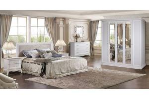 Спальня Амели белый дуб 11 - Мебельная фабрика «Ярцево»