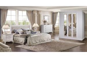 Спальня Амели белый дуб 2 - Мебельная фабрика «Ярцево»