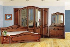 Спальня Анастасия 5-дверная - Мебельная фабрика «Кубань-мебель»