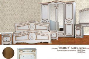Спальня Азалия - Мебельная фабрика «Алина-мебель»