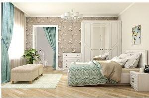 Спальня Азалия - Мебельная фабрика «Аквилон»
