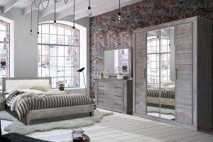 Спальня  Байс 1 - Мебельная фабрика «Пинскдрев»