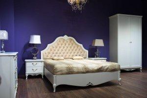 Спальня белая Жасмин - Мебельная фабрика «Мебель Черноземья»