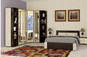 Спальня Берта 1 с угловым шкафом - Мебельная фабрика «Мебель-маркет»
