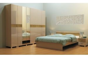 Спальня бежевая Santa Monica - Мебельная фабрика «Квадро-М»