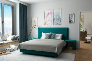 Спальня Бирюза бирюза - Мебельная фабрика «Лазурит»