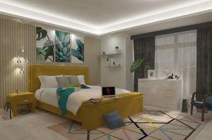 Спальня Бирюза шафран - Мебельная фабрика «Лазурит»