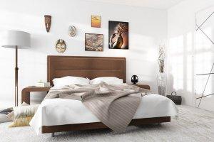 Спальня Бирюза шоколад - Мебельная фабрика «Лазурит»