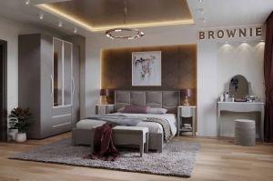 Спальня Brownie - Мебельная фабрика «Глазовская мебельная фабрика»