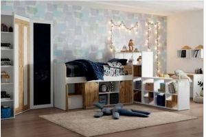 Спальня детская Брауни - Мебельная фабрика «Инволюкс»
