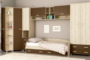 Спальня детская Лада шоколад - Мебельная фабрика «Мульто»