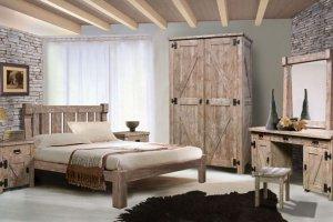 Спальня Дивия из массива сосны - Мебельная фабрика «Лидская мебельная фабрика»