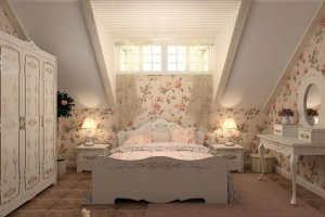 Спальня для девочки Рококо 2 - Мебельная фабрика «ALDO»