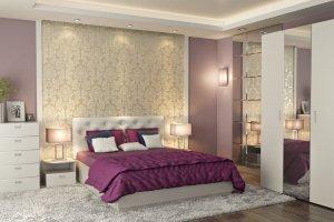 Спальня для взрослых Мишель - Мебельная фабрика «Интеди»