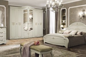 Спальня Джамиля-М 6Д-1,8 - Мебельная фабрика «Слониммебель»