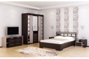 Спальня Эдем-3 комбинированная - Мебельная фабрика «Новосибирская Мебель»