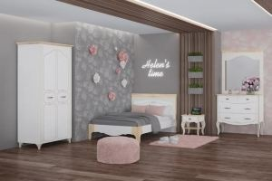 Спальня Элен 3 - Мебельная фабрика «МСТ. Мебель»