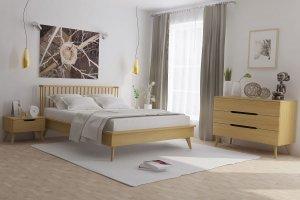 Спальня Элва в ретро стиле - Мебельная фабрика «Вилейская мебельная фабрика»