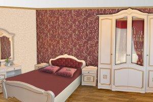 Спальня Эмилия - Мебельная фабрика «Прометей»