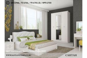 Спальня Эйми 3 - Мебельная фабрика «САНТАН»