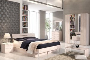 Спальня Flash светлый - Мебельная фабрика «Шатура»