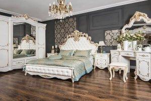 Спальня Флоренция белый перламутр - Мебельная фабрика «ЭРА»
