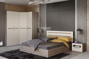 Спальня Фьюжн 1 - Мебельная фабрика «Столплит»