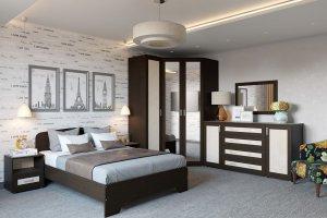 Спальня Гарун-К 1 - Мебельная фабрика «Уют сервис»