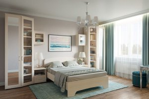 Спальня Гарун-К 3 - Мебельная фабрика «Уют сервис»