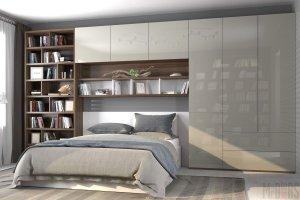 Спальня глянцевая 061 - Мебельная фабрика «Mr.Doors»