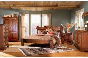Спальня из дерева Скандинавия new - Мебельная фабрика «Зеленая Сосна»