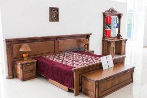 Спальня из массива ясеня Грация - Мебельная фабрика «BORA FASAD»