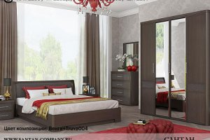 Спальня Камелия MATRIX - Мебельная фабрика «Сантан»