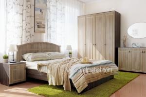 Спальня Кантри темная - Мебельная фабрика «Орёлмебель»