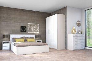 Спальня Кэт 6 ЛДСП 3 - Мебельная фабрика «ДИАЛ»