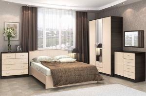 Спальня Кэт 7 вариант 2 - Мебельная фабрика «ДИАЛ»