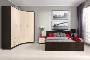 Спальня Кэт 7 вариант 3 - Мебельная фабрика «ДИАЛ»