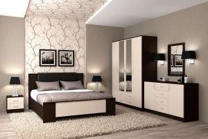Спальня Кэт 7 вариант 5 - Мебельная фабрика «ДИАЛ»