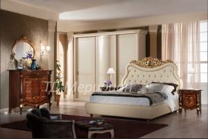 Спальня Композе-3 слоновая кость - Мебельная фабрика «Меридиан»