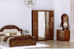 Спальня Лара орех - Мебельная фабрика «ИнтерДизайн»