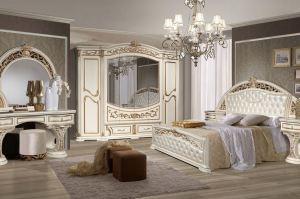 Спальня Латифа 6Д-1,8 - Мебельная фабрика «Слониммебель»